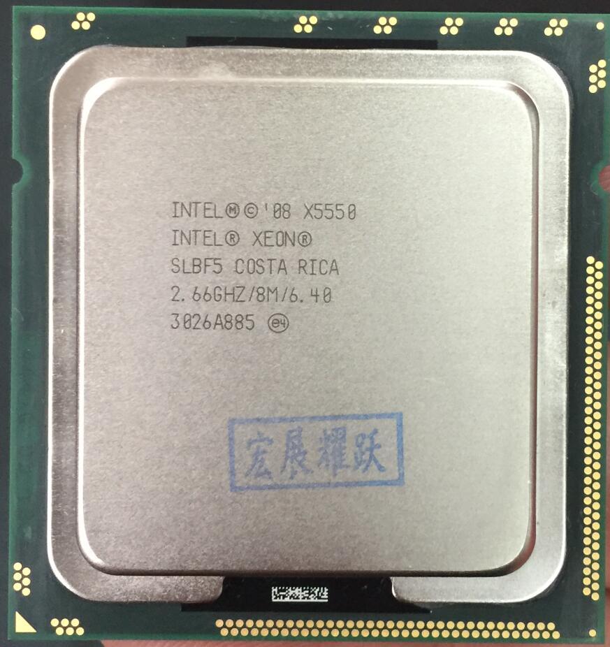 Intel Xeon Processor X5550 2M Cache, 2.6 GHz Intel ) LGA1366 Desktop CPU