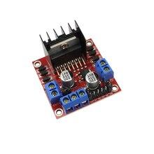 Dual H Bridge DC Stepper Motor Drive Controller Board Module L298 for arduino smart car robot