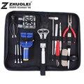 2014 envío gratis 18 / set alta calidad práctico mesa repair tool tool ver reloj kit correa kit abajo de la apertura inferior