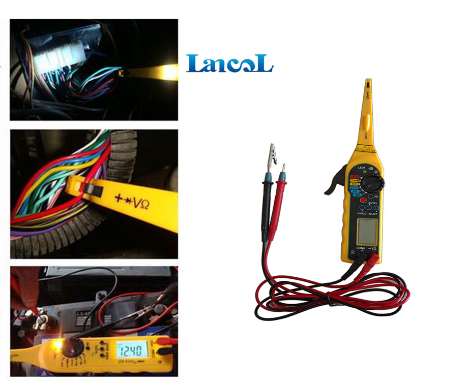 Top selling Multi-function Auto Car Circuit Tester Repair Automotive Electrical Multimeter Diagnostic tool