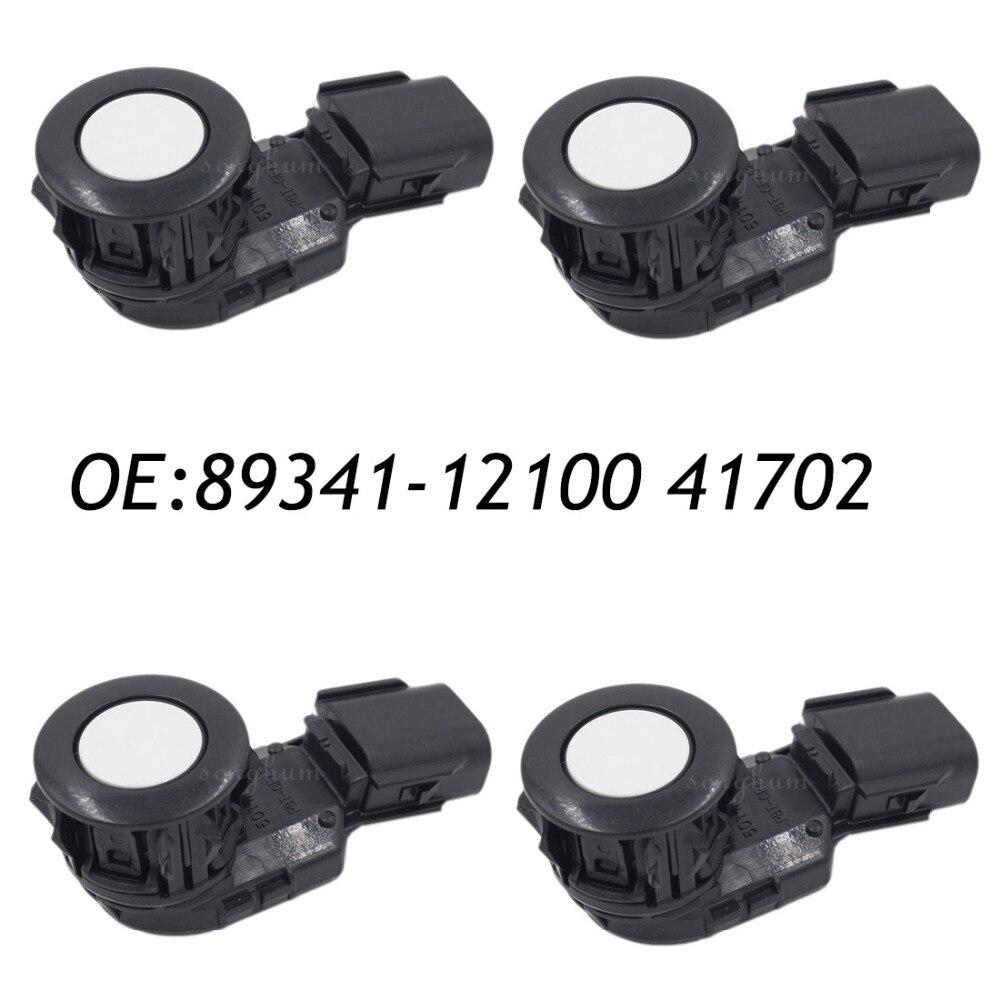 Tireless 4pcs 89341-12100 41702 05r21 Parking Sensor Distance Control Sensor Car Detector For Toyota Automobiles & Motorcycles
