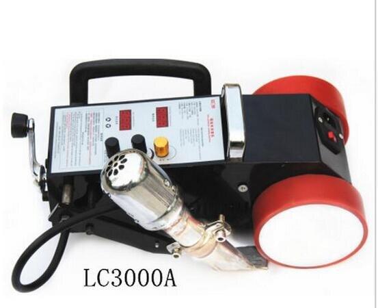 LC-3000A air chaud pvc soudage plastique soudeuse machine nouvelle génération puissance supérieure 110 V/220 V/publicité toile besoin pas de colle