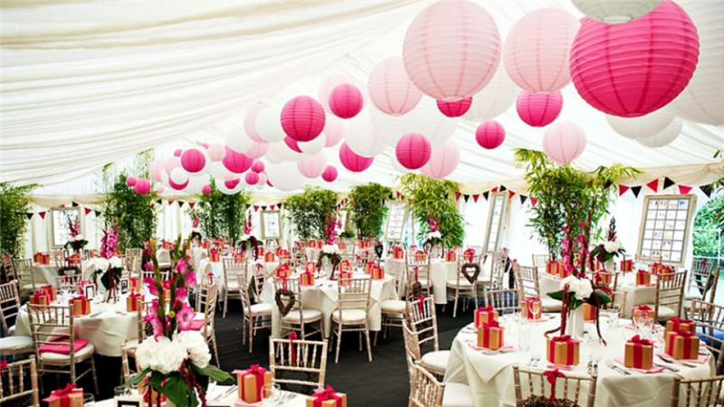 12inch 30cm chinesejapanese rice round paper lanterns lampion 12inch 30cm chinesejapanese rice round paper lanterns lampion outdoor wedding party event hanging decorations in lanterns from home garden on junglespirit Images
