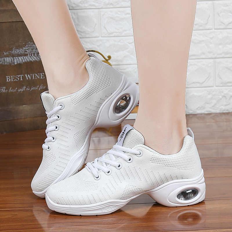 Zapatillas de baile para mujer jazz slip up zapatos de baile para mujer Jazz Hip Hop Zapatos Zapatillas de deporte para mujer aliento de baile
