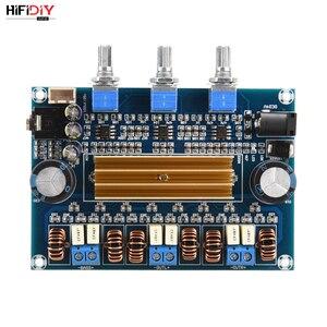 Image 2 - HIFIDIY VIVER A2.1 TPA3116 2.1 Carro Placa Amplificador Hi Fi Amplificador de Áudio Digital 50 w * TPA3116 2 + 100 w casa para a Coluna