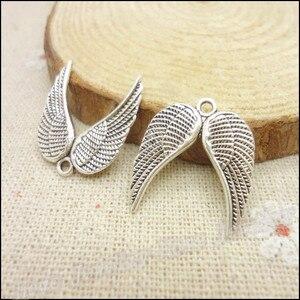 115 шт Подвески крыло кулон тибетский серебряный цинковый сплав подходит браслет ожерелье DIY Металлические Ювелирные изделия