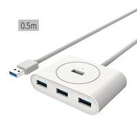 0.5M 1M 1.5M 4 in 1 Ports USB 3.0 Adapter Converter Hub 5Gbps OTG Splitter For PC Computer|hub 3.0|otg usb adapterhub otg -
