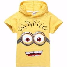 children t shirts despicable me boys minion t shirt girls nova T-Shirt kids hoodies summer Tops Tees