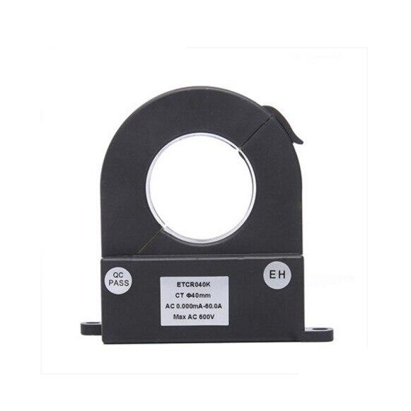 ETCR040K Split Type Lekstroom Sensor Van Hoge Nauwkeurigheid AC Huidige Tester Power Factor Stroomtang - 4
