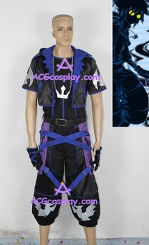 Kingdom Hearts Sora Cosplay Costume include gloves and necklace prop ACGcosplay