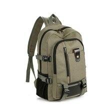 New Brand Canvas Backpack Unisex School Bag For Leisure Business Waterproof Travel Bag Laptop Bag Students Backpack Rucksack