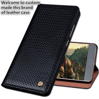JC06 Genuine Leather Flip Cover Case For Lenovo PHAB 2 Plus(6.44') Phone Case For Lenovo PHAB 2 Plus Phone Cover Free Shipping