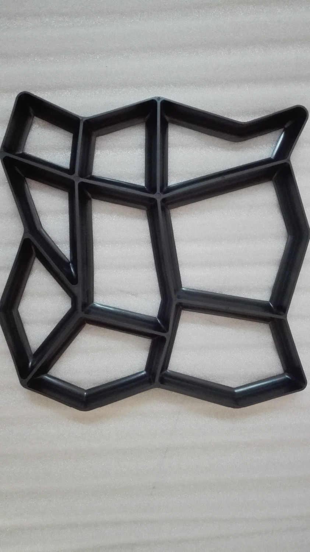 نوعية جيدة حديقة زينت أدوات قالب لتقوم بها بنفسك حجر قالب بلاستيكي مسارات رصف قالب باثميت مجرفة 43*43*4