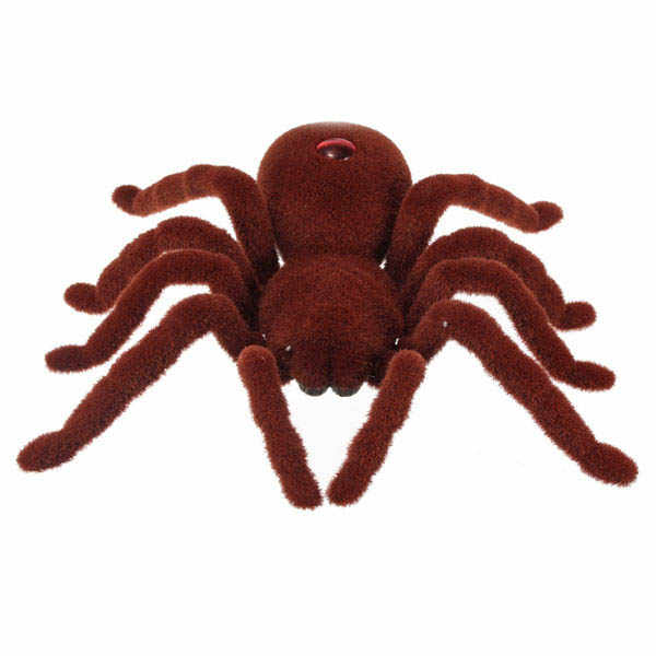 ABWE Best Sale Remote Control 11inch 2CH Infrared RC Tarantula Spider Prank Toy Kid Christmas Gift