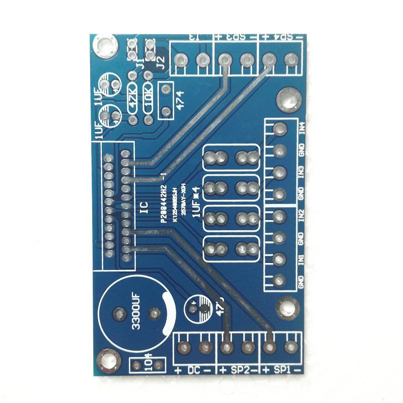 cheapest Power Amplifiers   TDA7388 Four Channel 4x41W Audio  DC 12V BTL PC Car AMP  PCB