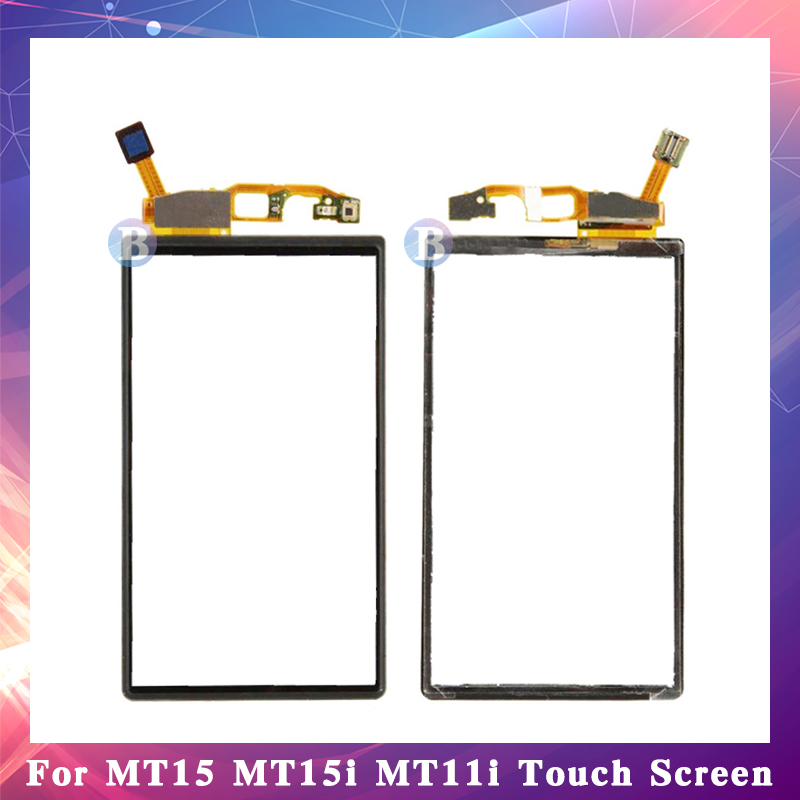 """10Pcs/lot High Quality 3.7"""" For Sony Xperia Neo V MT15i MT11i MT15 Touch Screen Digitizer Sensor Outer Glass Lens Panel"""
