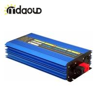 2600 Вт DC 12 В или 24 В или 48 В к AC 220 В или 110 В чистый синус инвертор волны для дома холодильник плита