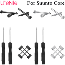 Fast disassembly tool Screwdriver + ear rod For Suunto Core smart watch screw rod connector watch Accessrioes watch band link lever ear ear screw rod for cartier pasha series watch accessories