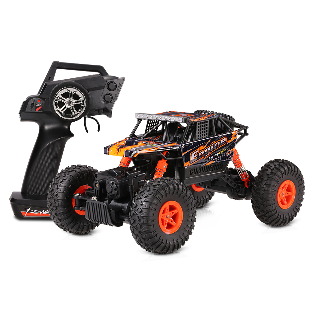 Original 18428-B 1/18 2.4G 4WD Electric RTR Off-Road Rock Crawler Climbing RC Car Remote Control Car toys for boys Band RC Cars