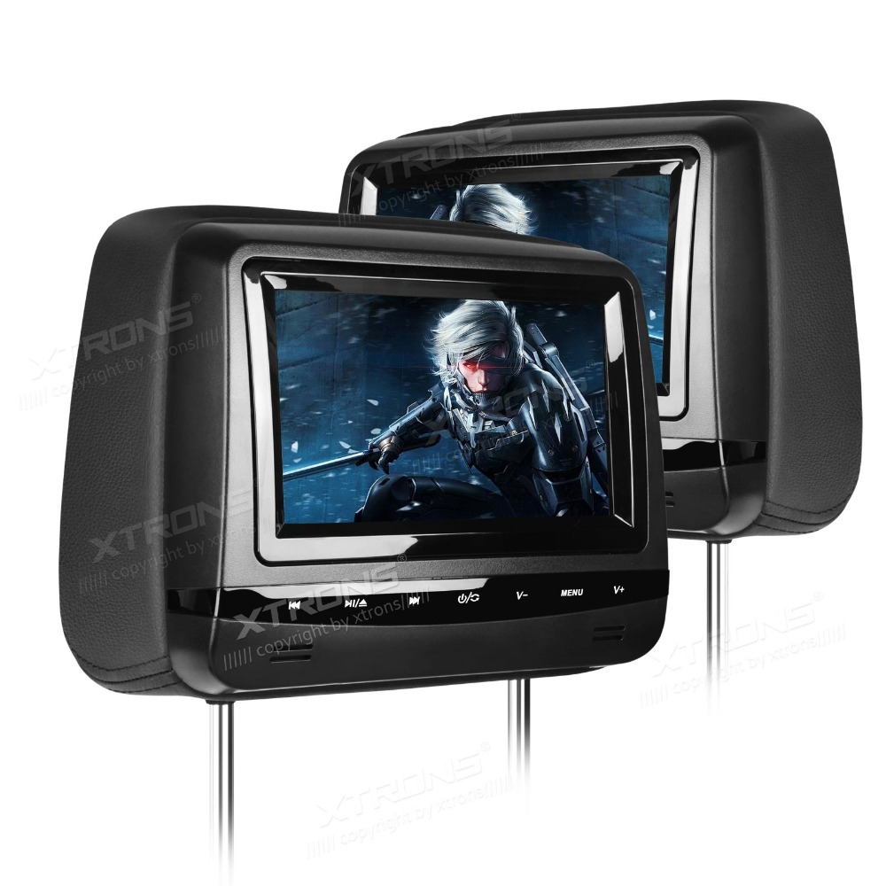 27 car dvd headrest player touch button game usbsdcd