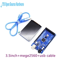 3 2 Inch TFT LCD Module Ultra HD 320X480 MEGA 2560 R3 Board USB Cable