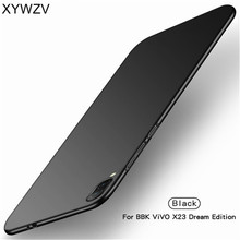 Vivo X23 Symphony Edition Case Luxury Smooth Hard PC Phone Case For Vivo X23 Symphony Edition Back Cover Full Protection Fundas