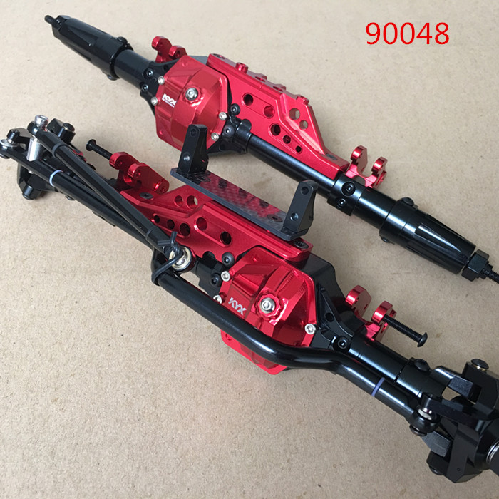 1/10 Scale AXIAL WRAITH RR10 90048 HD FULL METAL ALUMINUM AXLES FRONT & REAR RC Rock Crawler Car AXLE rc parts differential lock 1 10 scale wraith 90018 yeti 90025 90050 rr10 90048
