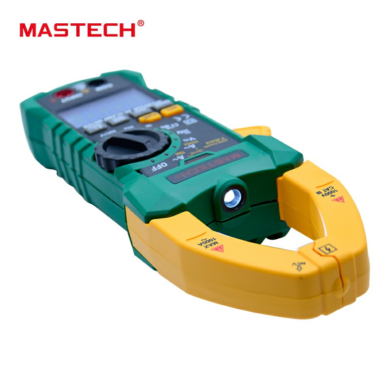 MASTECH MS2015A 1000A AC Current Clamp Meter AC DC Voltage Meter True RMS Digital Multimeter Frequency