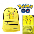 2016 New Oxford Pokemon Go School Bag for Teenagers Pocket Monster Pikachu Shoulder Bag Girls School Bag Printing Mochila