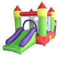 Yard castillo hinchable inflable inflables bouncer castillo inflable piscina de bolas de diapositivas con ventilador