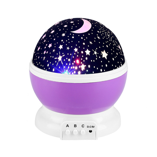 AGM Stars Starry Sky LED Night Light Star Projector Moon Table Lamp Lights Luminaria Novelty Nightlight For Kids Children Baby