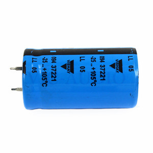 Image 2 - DIY Amplifier Accessories HIFI Capacitor VISHAY BC 450V 220UF Capacitance Amps Electrolytic Capacitor Filter 1PC Free Shipping