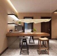 Северная Европа пост современная люстра лампа гостиная Железный полый обеденный освещение арт дисковый корпус глазурованный планшет люст