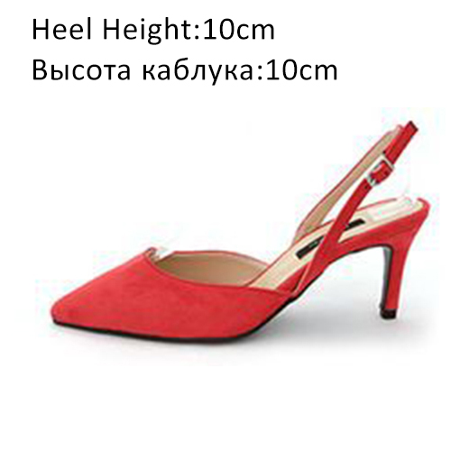 Red Shoes 10cm