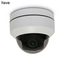 LIEVE PTZ Dome AHD Camera 1080P Mini Outdoor CCTV Security Camera Motorized Pan Tilt 4in1 5X Zoom Lens