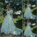 Custom madeOn sale V-12268 1860S Victorian Gothic/Civil War Southern Belle Ball Gown Dress Halloween dresses Sz US 6-26 XS-6XL