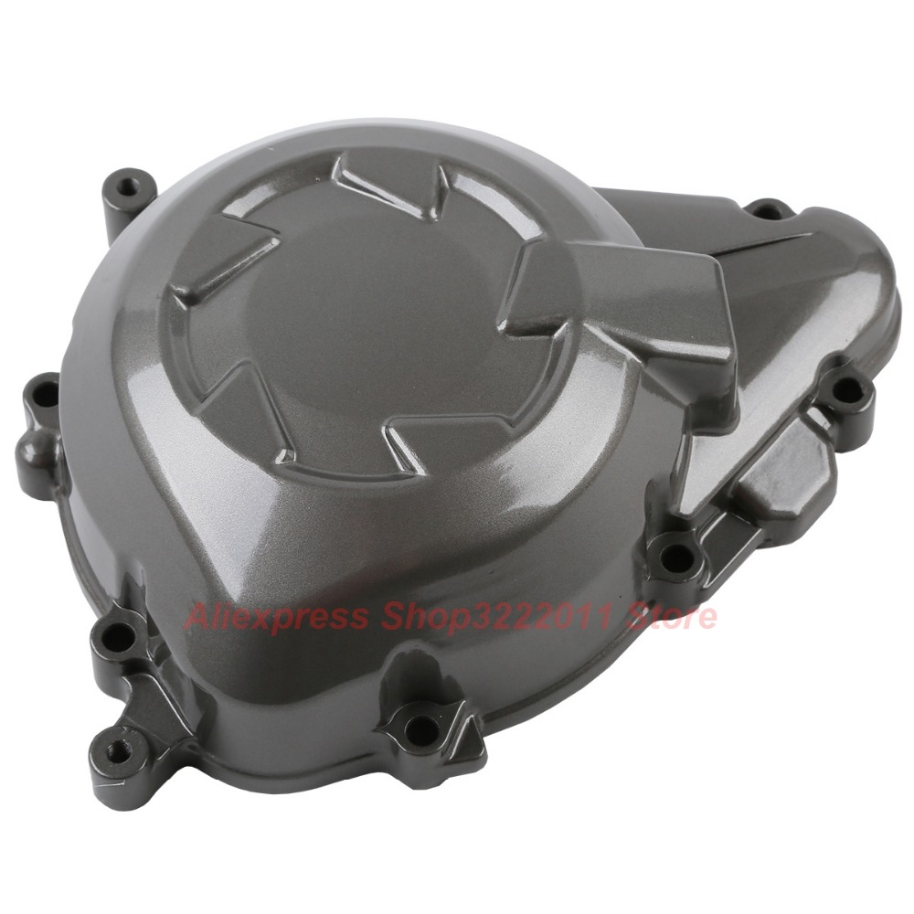 Aluminum Motorcycle Left Crankcase Engine Cover For Kawasaki Z1000 2011-2014 starpad for lifan motorcycle v250 lf250 p combination left crankcase cover new accessories