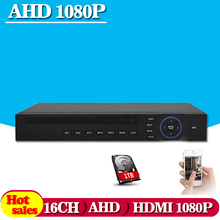 HD CCTV surveillance 16ch AHD 720P 960H 25fps recording security h.264 DVR HDMI 1080P 16 channel HI 3531 DVR NVR ONVIF Recorder