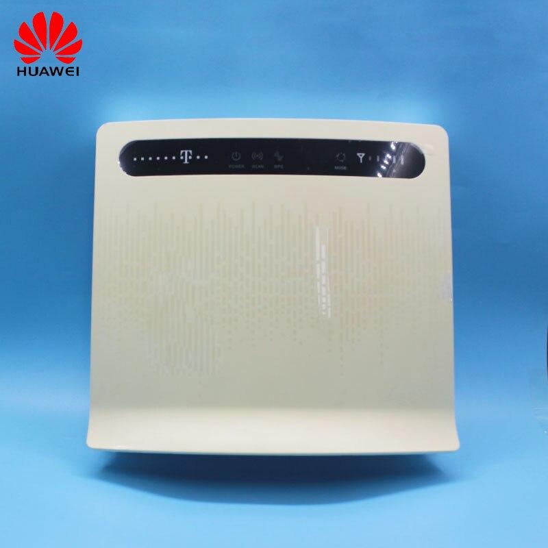 Débloqué Huawei B593 B593s-12 B593u-12 Avec Antenne Et Sans Antenne Cap 4g LTE Routeur 4g Routeur 4g LTE WiFi Routeur PKB310