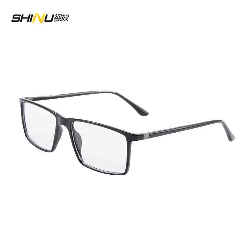 53d50a63a8 Tr90 Glasses Optical Glasses Man Eyeglasses Frames Square Luxury Frame Lens  Vintage Montatura Occhiali Uomo 9195