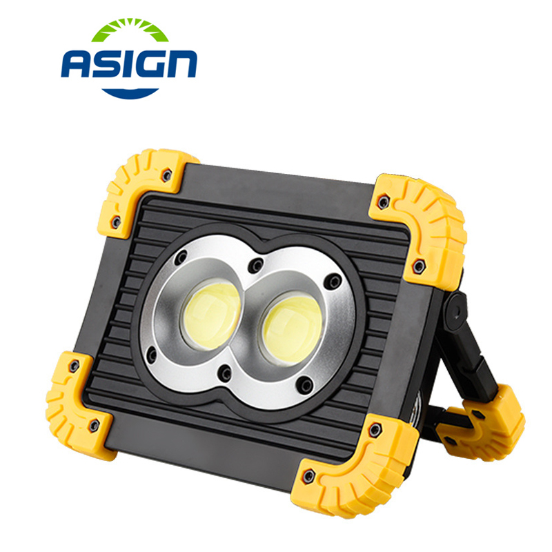 Rechargeable Portable Led Flood Light 20W 4 Modes 400Lm Hunting Spotlight Flood Spot Work Light For Outdoor Camping Lamp стоимость
