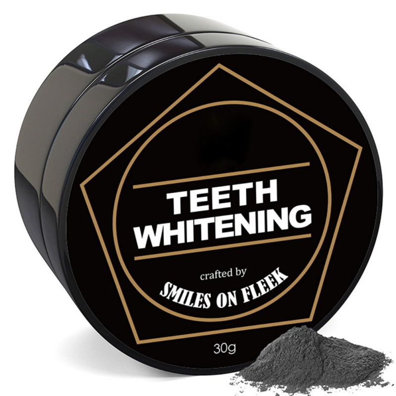 Teeth Whitening Cleaning Activated Charcoal Powder Natural Safe Tooth Whitener Bright White Teeth Dental Clean Oral Hygien 30g