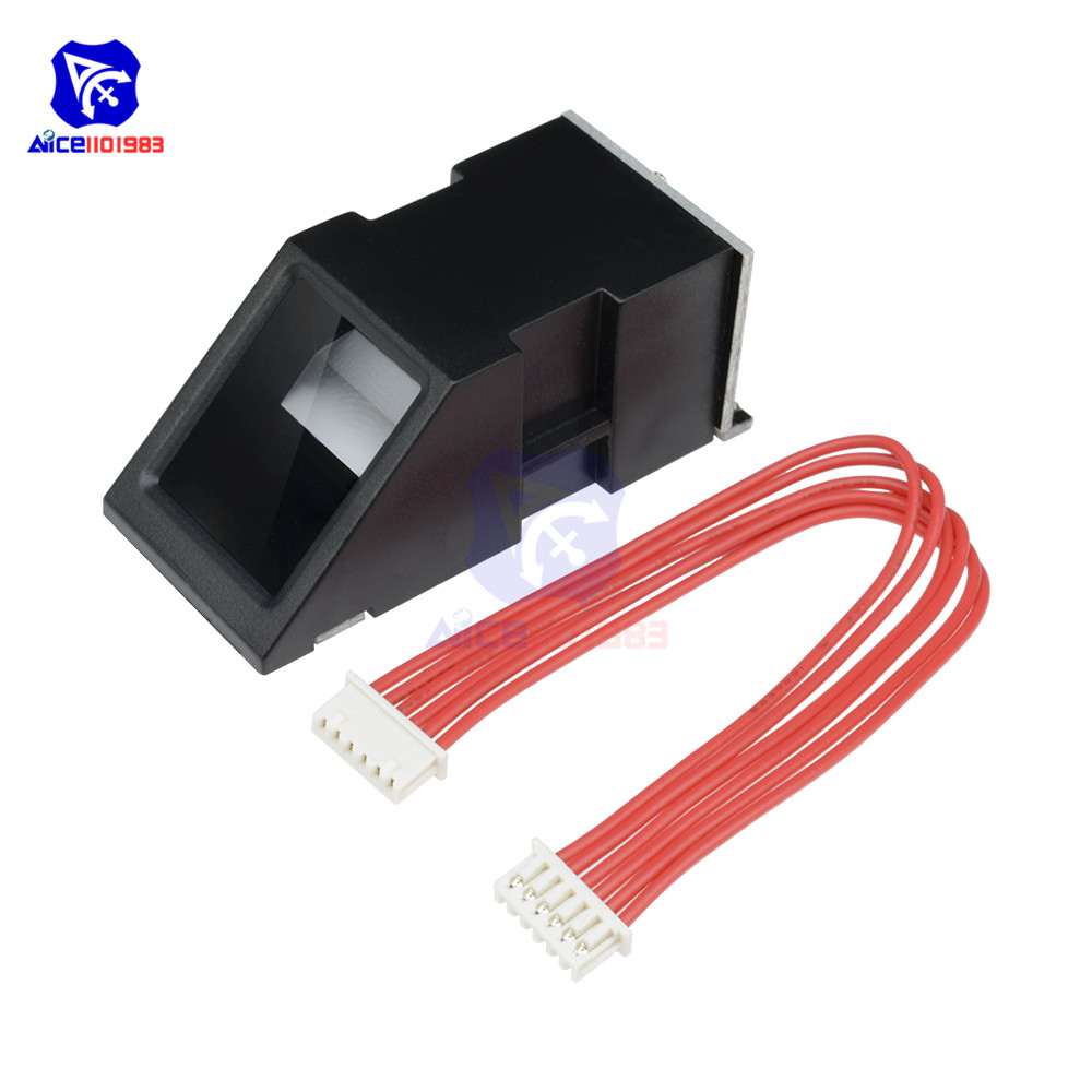 FPM10A Fingerprint Reader Sensor Module Optical Fingerprint For Arduino  Locks Serial Communication