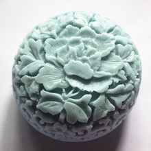 flower pattern mold DIY Clay Craft Casting Molds Food Grade Silicone Mould Hand made Polyester Resin Molding tool