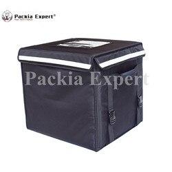 89L 46*46*42 cm Voedsel levering zak cake pizza levering zak met ondersteuning Zwarte Kleur Model: PEH-53