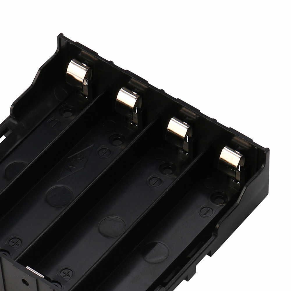 Cargador de batería para 4x18650 caja de almacenamiento de batería recargable DIY funda, soporte de cargador de batería Dropship #32