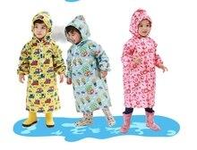 SL de Bande Dessinée Enfants Imperméable Evironment Étanche Tranchée Imperméable Bébé Fille et Garçon Belle Combinaison De Pluie 2015 Mode Poncho