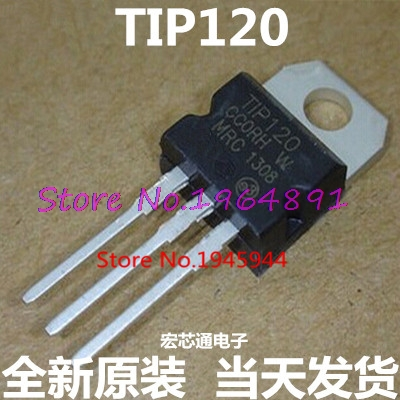 10pcs/lot TIP120 120 TO-220 In Stock