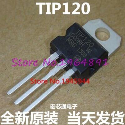 10pcs/lot TIP120 TIP 120 TO-220 new original In Stock