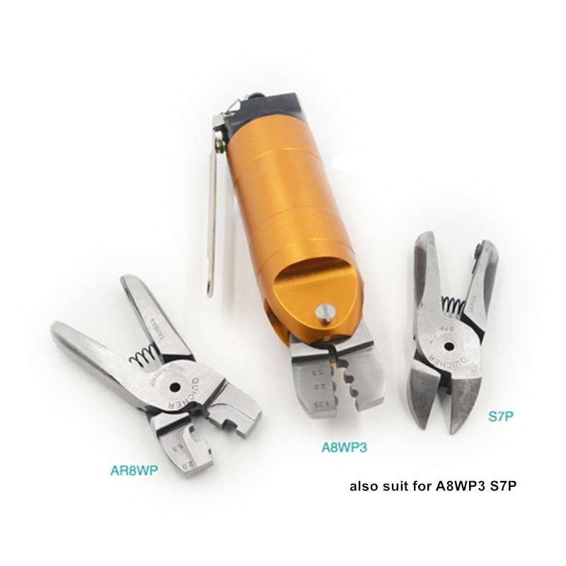 herramienta de engarce de terminal neumática alicates de abrazadera - Herramientas eléctricas - foto 3